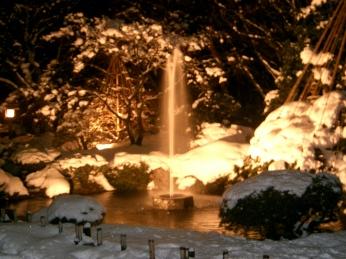 Kenrokuen light-up
