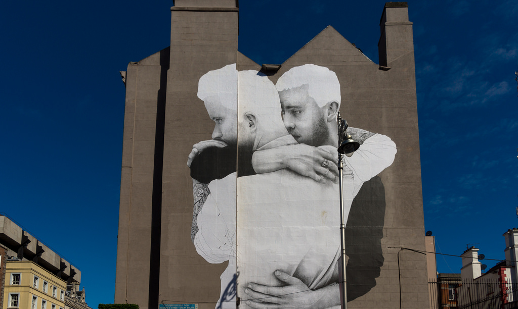 Joe Caslin Marriage Equality mural Dublin
